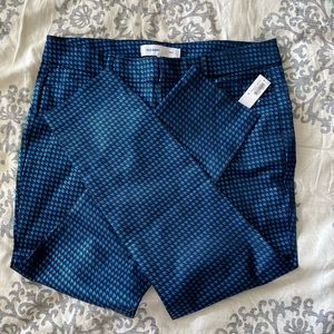 Old Navy Jacquard Houndstooth Pixie  Womens 12 NWT